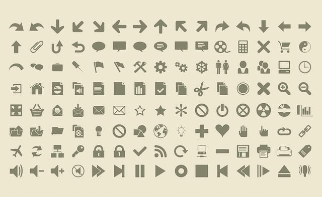 Añadir iconos en el menú