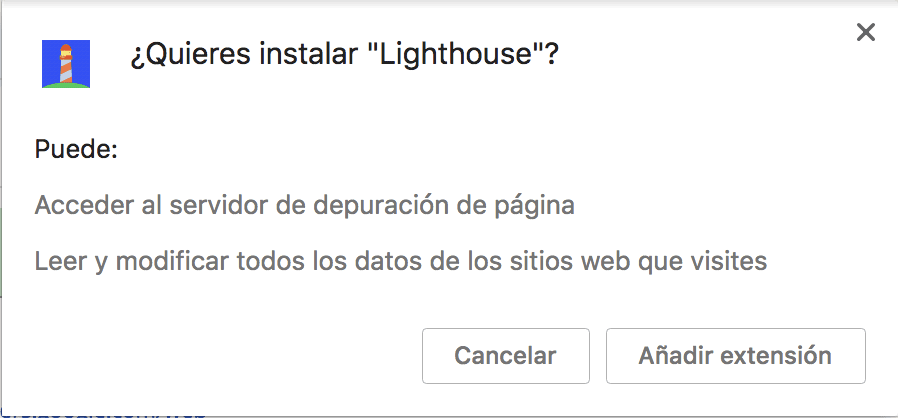 Instalar Lighthouse