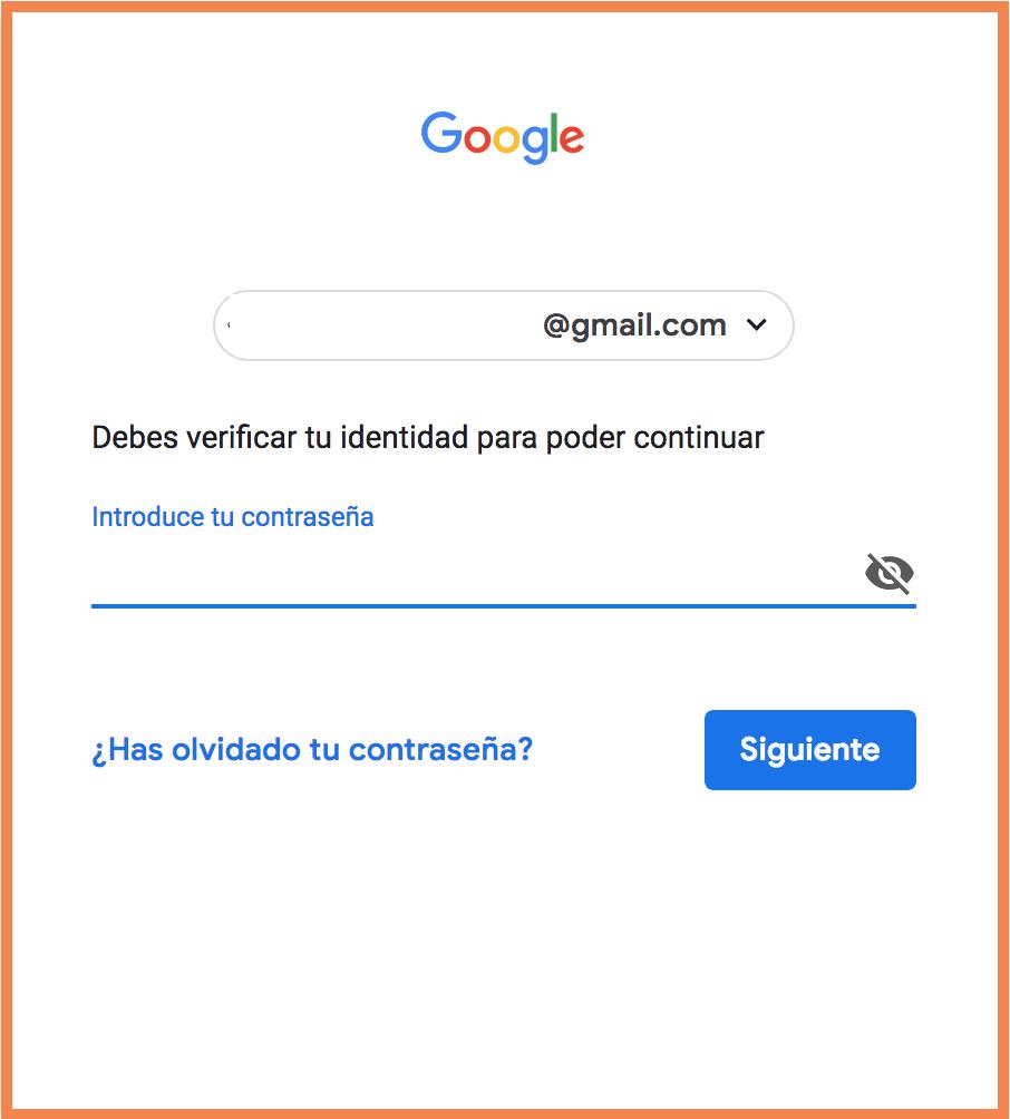 Acceso a Google+